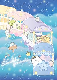ธีมไลน์ Sumikkogurashi: Starry sky walk