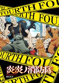 ธีมไลน์ ENN ENN NO SHOUBOUTAI Vol.34