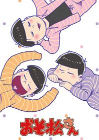 ธีมไลน์ Osomatsu san pajamas series/the youngest