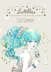 ธีมไลน์ Lutella #cool Summer