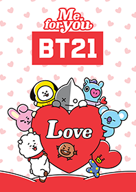 ธีมไลน์ BT21: Me For You