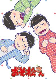 ธีมไลน์ Osomatsu san pajamas series/the eldest