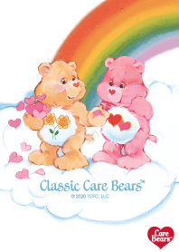 "ธีมไลน์ Care-a-Lot ""Care Bears classic"" vol.10"
