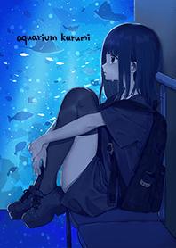 ธีมไลน์ Aquarium Kurumichan