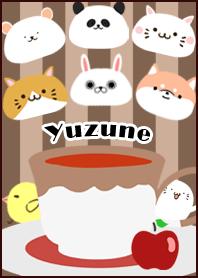 ธีมไลน์ Yuzune Scandinavian mocha style