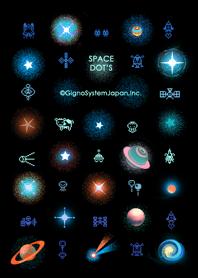 ธีมไลน์ SPACE DOTS