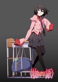 ธีมไลน์ MONOGATARI Series(Oshino Ougi)