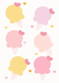 ธีมไลน์ Cute ice-cream theme 20