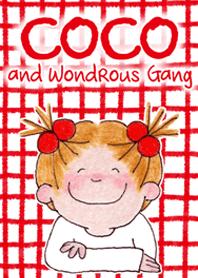 ธีมไลน์ COCO and WondrousGang7