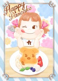 ธีมไลน์ Happy Pancake with PEKO