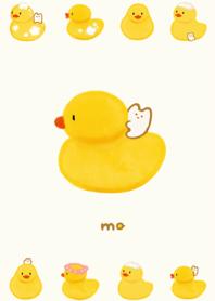 ธีมไลน์ rubber duck & mo