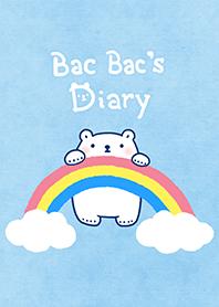 ธีมไลน์ Bac Bac's Diary วันฟ้าใส