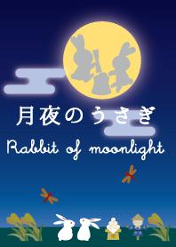 ธีมไลน์ Rabbit of moonlight