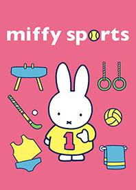 ธีมไลน์ เล่นกีฬากับ miffy
