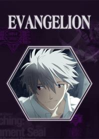 ธีมไลน์ EVANGELION Theme KAWORU