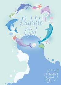 ธีมไลน์ Bubble Girl 1 #cool