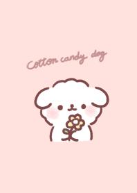 ธีมไลน์ Cotton candy dog 1