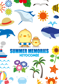 ธีมไลน์ Summer memories (Hiyocombi)