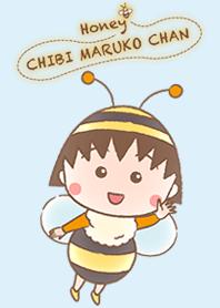 ธีมไลน์ Honey Bee Chibi Maruko Chan