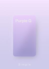 ธีมไลน์ simple and basic PurpleG