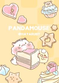 ธีมไลน์ Happy PandaMouse