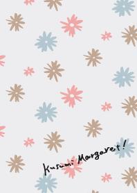 ธีมไลน์ Kusumi Marguerite 01
