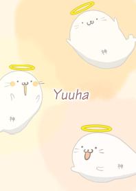 ธีมไลน์ Yuuha Seal god Azarashi