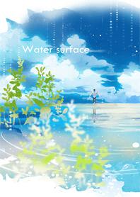 ธีมไลน์ Water surface