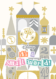 ธีมไลน์ it's a small world