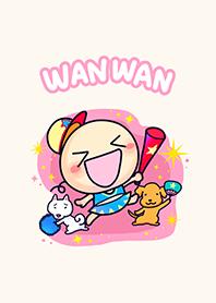 ธีมไลน์ Wan Wan Fight!