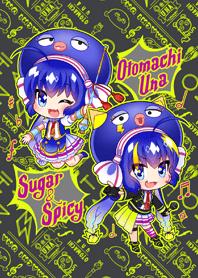 ธีมไลน์ Otomachi Una (Spicy)