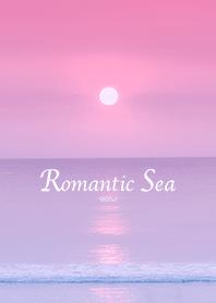 ธีมไลน์ The sea dyed in the sunset