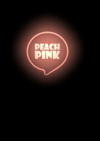 ธีมไลน์ Peach Pink Neon Theme Ver.4