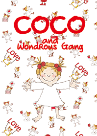 ธีมไลน์ COCO and Wondrous Gang 5