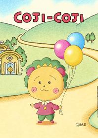 ธีมไลน์ Coji-Coji Balloons