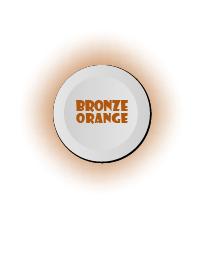 ธีมไลน์ Bronze Orange & White Button