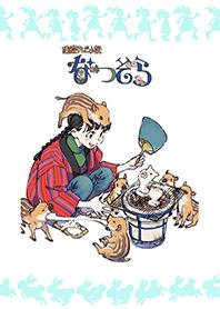 ธีมไลน์ Natsuzora script cover illustration 16