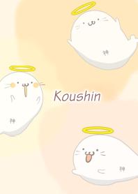 ธีมไลน์ Koushin Seal god Azarashi