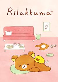 ธีมไลน์ Rilakkuma beside you