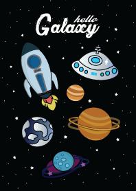 ธีมไลน์ กาแล็กซี่ในอวกาศ