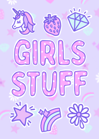 ธีมไลน์ - GIRLS STUFF -
