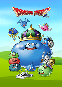 ธีมไลน์ DRAGON QUEST Slime Theme
