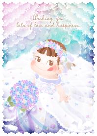ธีมไลน์ Wishing you -peko's wedding-