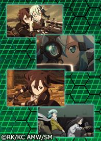 ธีมไลน์ SAO Phantom Bullet