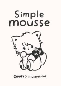 ธีมไลน์ simple mousse