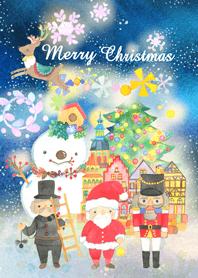 ธีมไลน์ Christmas in Toyland