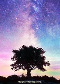 ธีมไลน์ Fantastic night sky