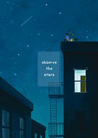 ธีมไลน์ observe the stars