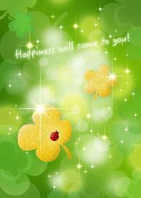 ธีมไลน์ Happiness will come to you! 2