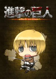 ธีมไลน์ Attack on Titan ~Armin~